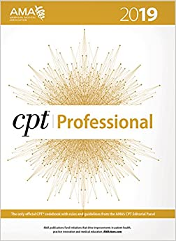CPT 2019 (CPT / Current Procedural Terminology (Professional Edition)) 9781622027521 Medicine & Health Science  @