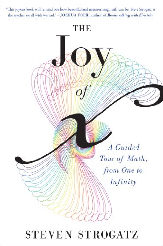 The Joy of x A Guided Tour of Math, from One to Infinity Reprint, Strogatz, Steven -