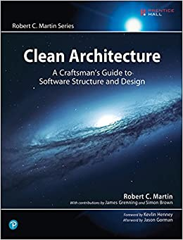 Clean Architecture A Craftsman's Guide to Software Structure and Design (Robert C. Martin Series) 1, Martin, Robert C.