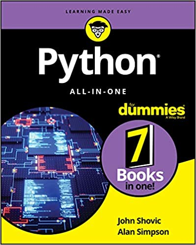 Python All-in-One For Dummies (For Dummies (Computer/Tech)) 1, Shovic, John, Simpson, Alan