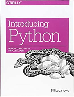 Introducing Python Modern Computing in Simple Packages 9781449359362 Computer Science  @